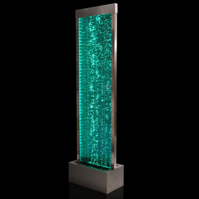 Ammonite Stainless Steel Water Feature : £349.95. This Self Contained ...